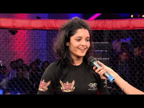 MMA in India: Super Fight League 11 : Ritika Singh Post Fight Interview