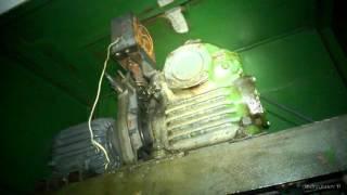 Старенький малогрузовой лифт(Лифт грузовой малый грузоподъемностью 160 кг., 2015-12-08T22:58:10.000Z)