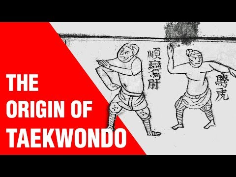 The Origin of Taekwondo | ART OF ONE DOJO