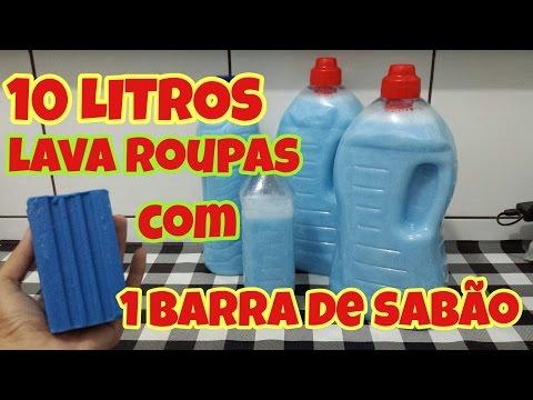 SABÃO LAVA ROUPAS CASEIRO MARAVILHOSO!!!