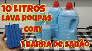 SABÃO LAVA ROUPAS CASEIRO – MARAVILHOSO