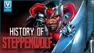 History Of Steppenwolf! (Justice League Movie Villain)