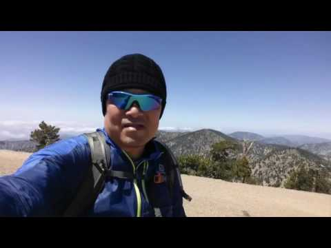 Vincent Gap to Mt Baden Powell via PCT