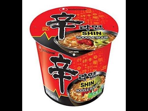 Ramen Review 7 - NongShim Shin Cup Noodle Soup