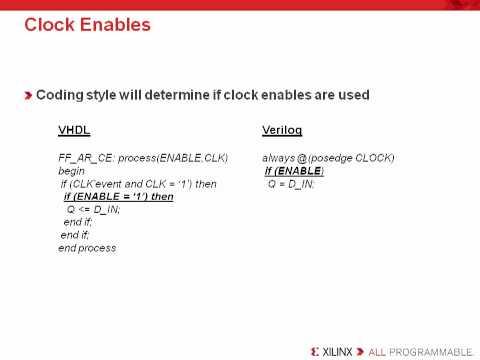 Basic FPGA HDL Coding Techniques