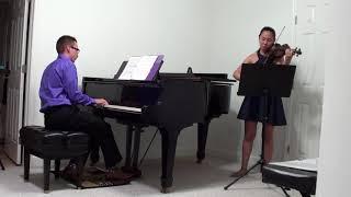 Jade Maria and Braeden Duncan Play Saint-Saëns: The Swan