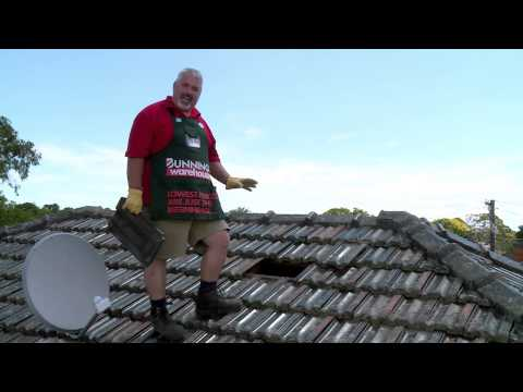 How To Remove Roof Tiles - DIY At Bunnings