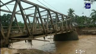 اندونيسيا.. أعمال تنظيف بعد فيضانات تسببت بمقتل العشرات - (3/1/2020)