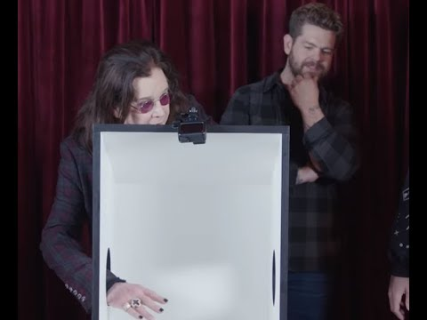 Ozzy Osbourne and FaZe Clan play 'What's In The Box?' ...!!??