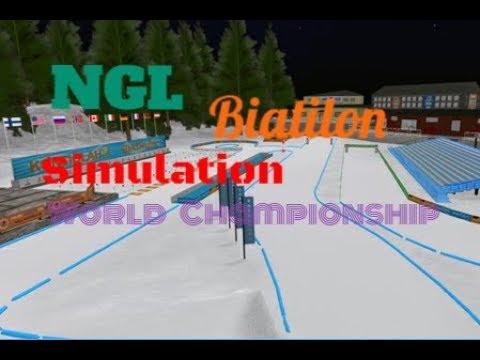 Чемпионат Мира в NGL Biathlon Simulation | Контиолахти. Эстафета