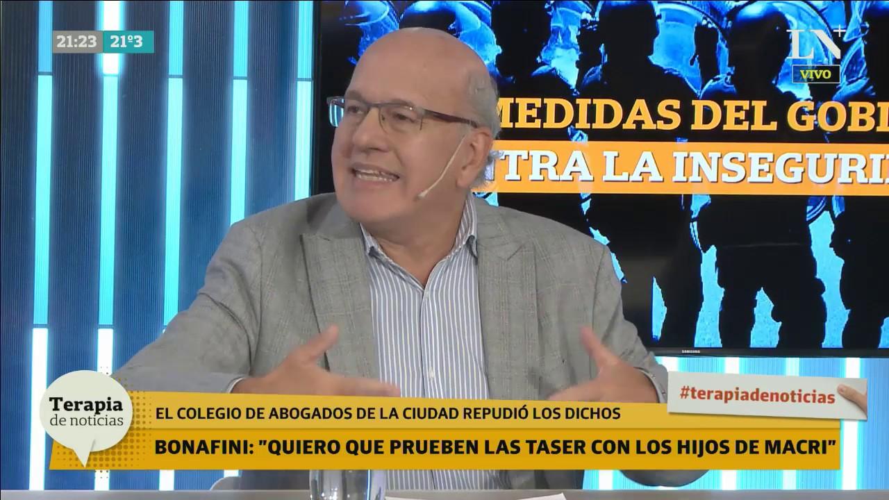 Luis Brandoni opinó de política, economía y seguridad en Terapia de Noticias