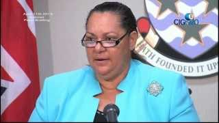 Cayman Islands Government Cabinet Press Briefing April 11 2013