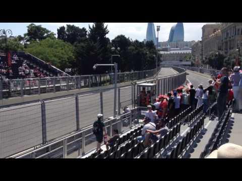 2017 Formula 1 Azerbaijan Grand Prix Baku 22-25 June