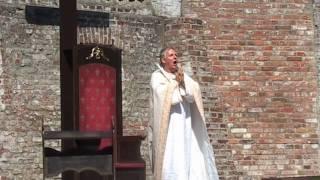 Bischof von Bremen - James B. Wood - Sommertheater Schlossgarten Cuxhaven 2010