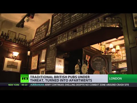 Pubs to Pads: Classic British taverns disappear as developers take over