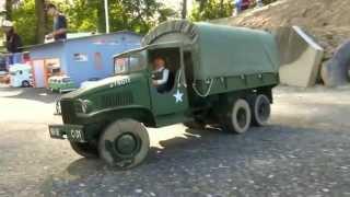 RC US. ARMY TRUCK GMC WW II TRUCK