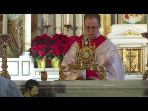 Fathers of Mercy Christmas Benediction
