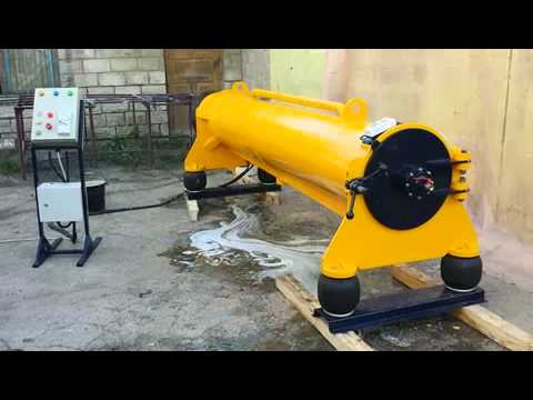 Центрифуга для отжима ковров - YouTube