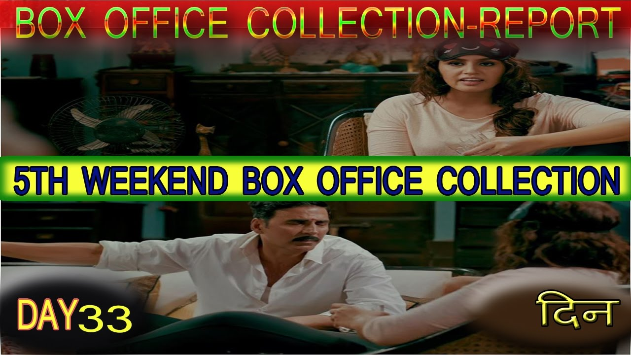 Jolly llb 2 33rd day 5th weekend total box office - Movie box office results this weekend ...