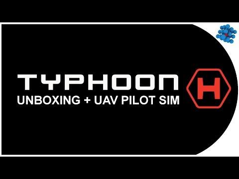 Typhoon H Unboxing + UAV Pilot Sim