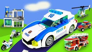 1 Stunde Spaß mit Lego Spielzeugen: Lego Duplo, Polizei- und Feuerwehrautos, Paw Patrol Unboxing