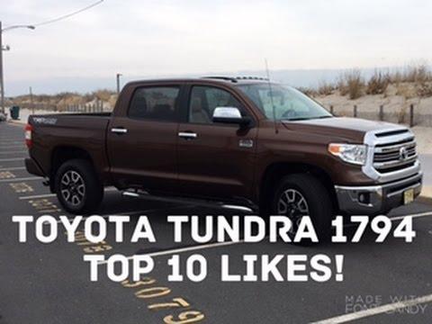 2017 toyota tundra 1794 trd top 10 likes youtube. Black Bedroom Furniture Sets. Home Design Ideas