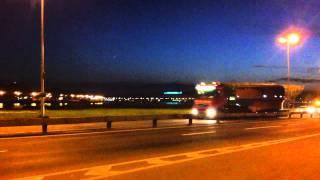 М-ГРУПП Перевозка крупногабаритных грузов(М-ГРУПП перевозка негабаритных лопастей турбины СПб-Сергие Посад диаметр 6,7 вес груза 105 тонн., 2011-06-13T21:47:10.000Z)