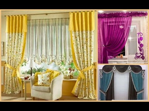 45 Best Ever Window Curtain & Scarf Design Ideas, Pictures and Style!!