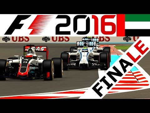 Saisonfinale in Abu Dhabi – F1 2016 Karriere Saison 1 #61 – Lets Play F1 2016 Gameplay German | CSW