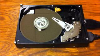Opening a Bad Western Digital Caviar Hard Drive - 2012-08-31