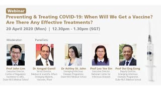 Preventing and Treating COVID-19: When Will We Get a Vaccine? Are There Any Effective Treatments?