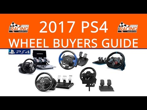 2017 PlayStation 4 Steering Wheel Buyers Guide