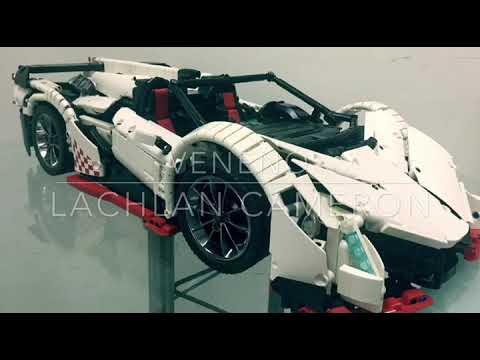 Lego Moc Lamborghini Veneno Roadster 50th Anniversary Edition Youtube