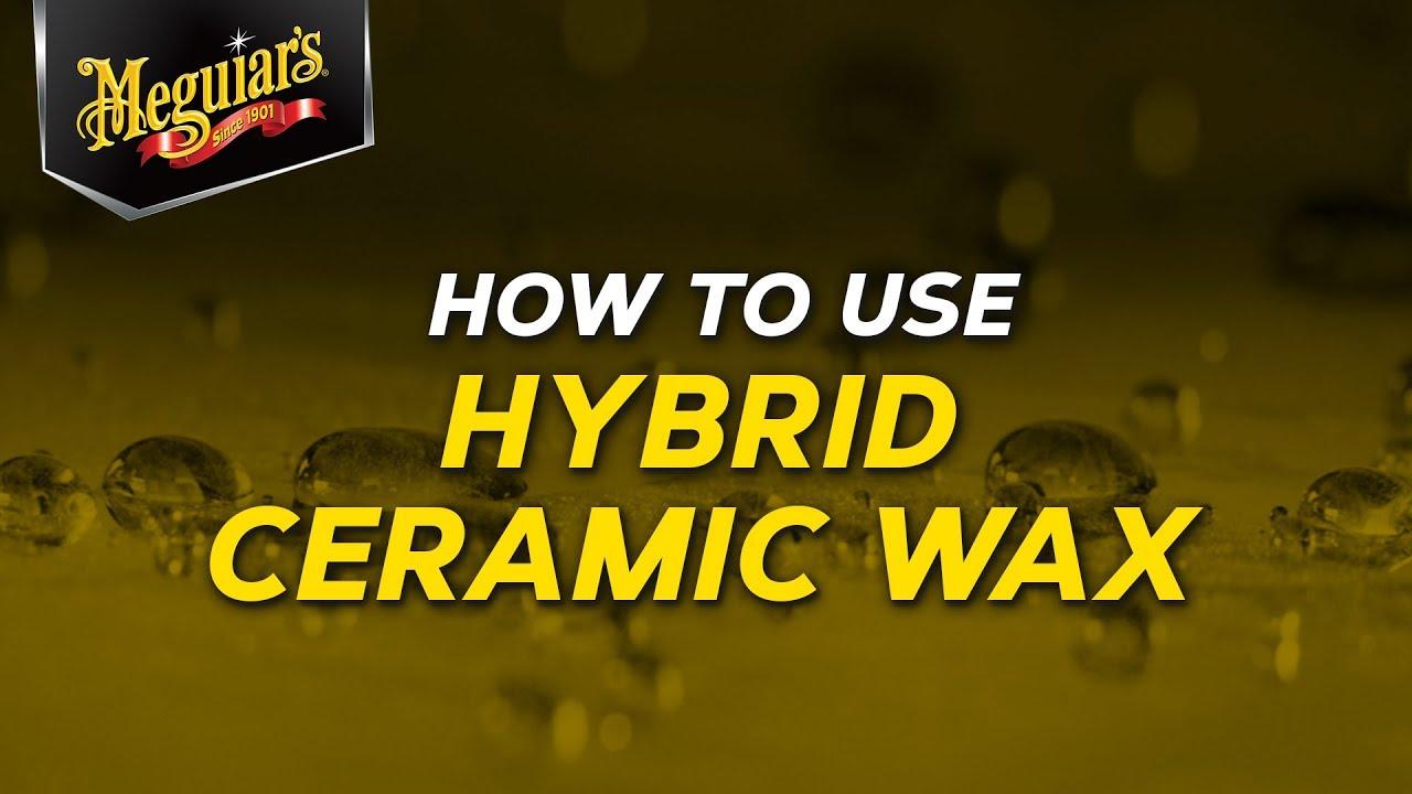 Ceramic Car Wax >> Meguiar's Hybrid Ceramic Wax - Ceramic Made Easy! - YouTube