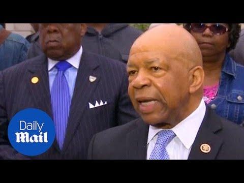 Elijah Cummings reacts to prosecution of Baltimore police - Daily Mail
