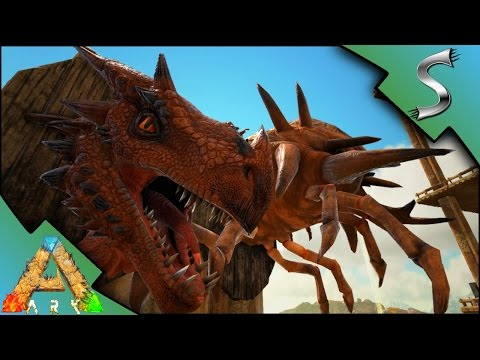 ALPHA TROPHIES! ALPHA WYVERN & ALPHA DEATHWORM HEADS | Ark: Scorched Earth [Gameplay E38]