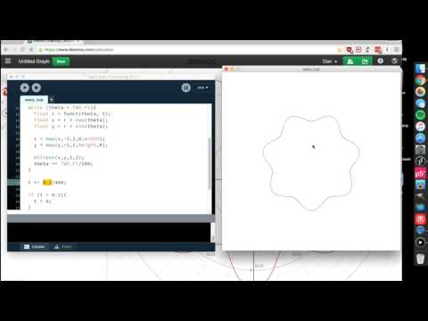 Workflow to Program a 3D Model: Desmos to Processing to Fiji