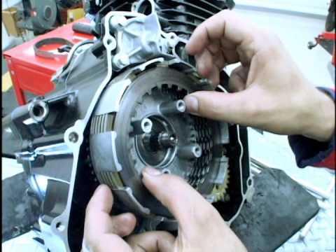 como desarmar un motor pulsar 4 timpos parte 1
