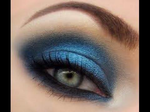 Как накраситься под синее платье, как накраситься в синем цвете