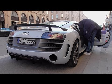 David Alaba's Audi R8 GT Start Up + Acceleration