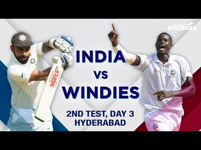 Match Story India vs Windies Test 2 Day 3 Oct 14