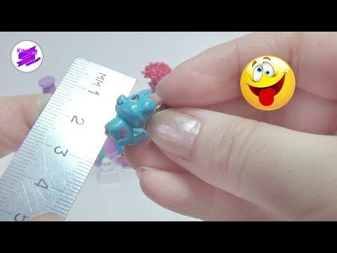 ШОК! Крохотные сюрпризы! Малюсенькие игрушки в сюрпризах.