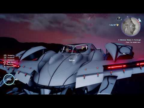 FINAL FANTASY XV Secret Dungeon Landing