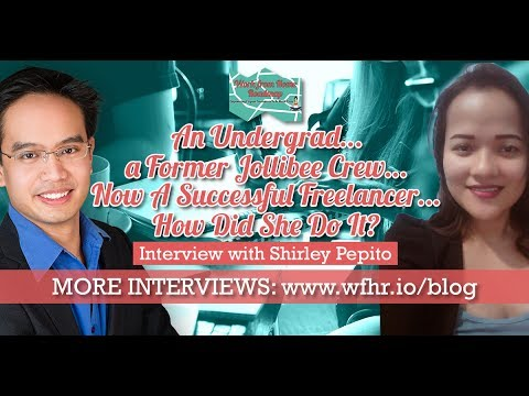🔴 An Undergrad a Former Jollibee Crew Now A Successful Freelancer | Shirley Pepito | JasSuccess 006