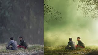 Photoshop CC Tutorials | Photo Manipulation & Effects ( Two boys )