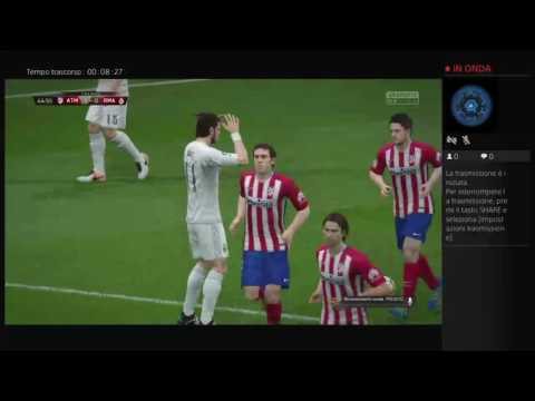 Fifa 16: atletico madrid Real madrid derby spagnoli stagione 2