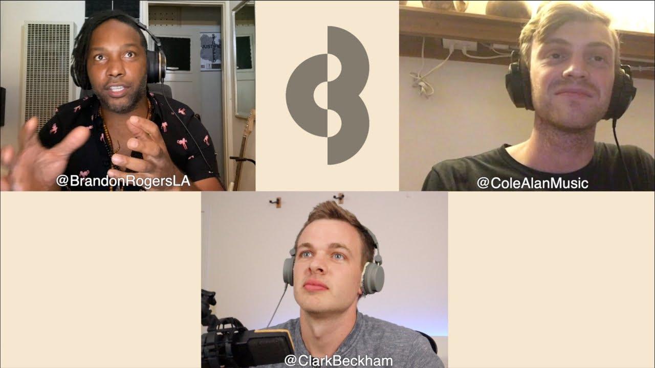 Luckiest Man Interview w/ Clark Beckham, Cole Alan hosted by Brandon Rogers
