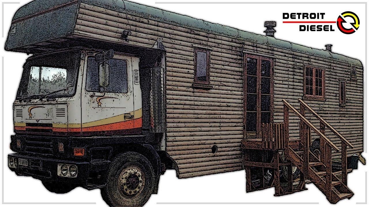 1977 TM Bedford 6v71 Detroit Diesel Start Up