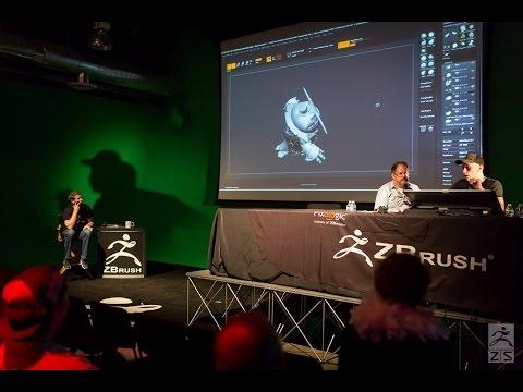 Official ZBrush SUMMIT 2015 Presentation - Riot Games Featuring Willem van der Schyf