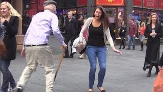 Psycho Old Man Scare Prank! - Jackass Bad Grandpa